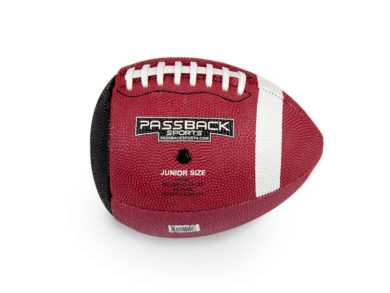 Junior Rubber Passback Training Football (Ages 9-13)