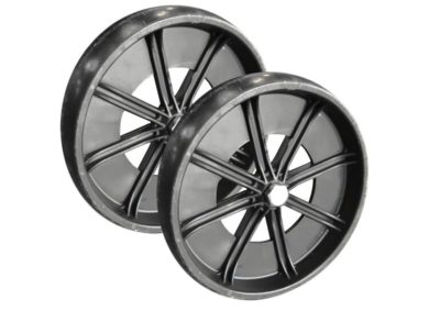 All Ball Pro® – Pair of 10″ Wheels with Bolts
