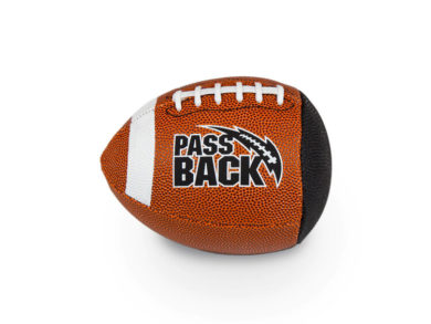 Peewee Composite Passback Training Football (Ages 4-8)