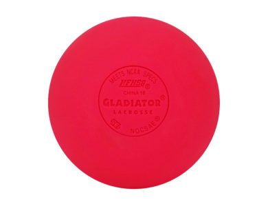 Gladiator Lacrosse® Box of 12 OFFICIAL Lacrosse Game Balls – Pink – Meets NOCSAE STANDARDS, SEI CERTIFIED