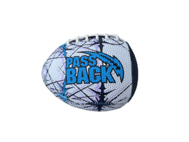 Peewee Rubber Passback Training Football (Ages 4-8)